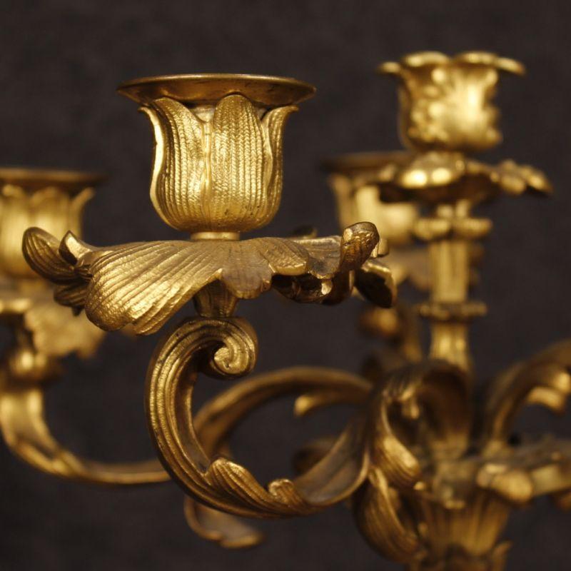 Candelabri antichi dorati 3