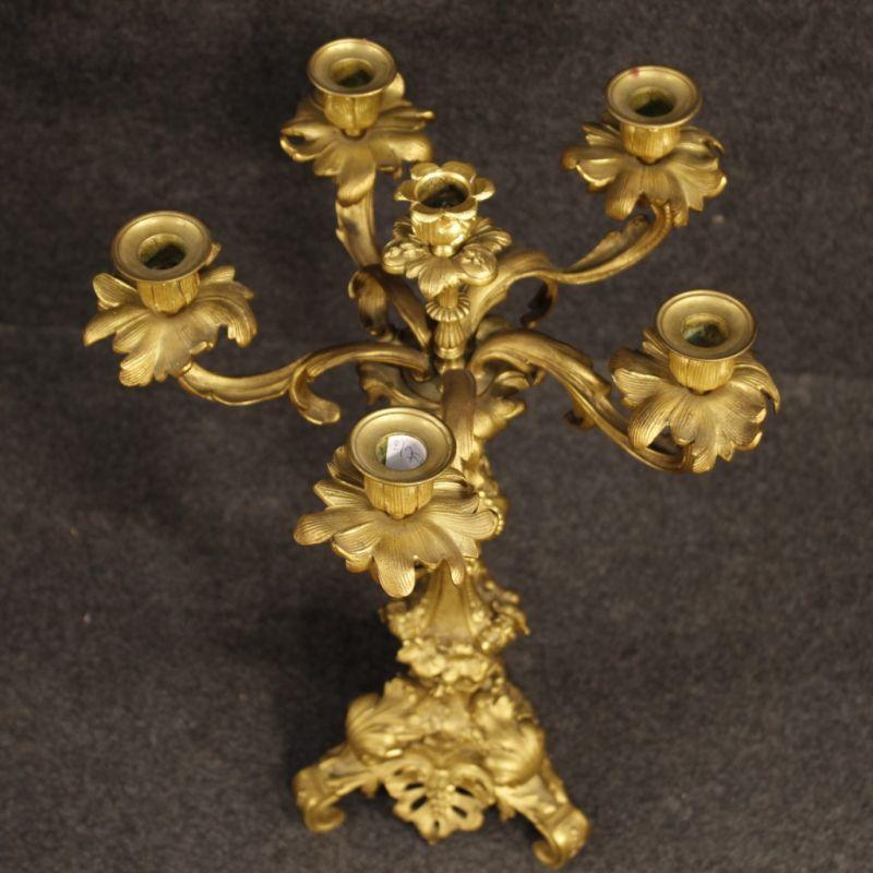 Candelabri antichi dorati 4
