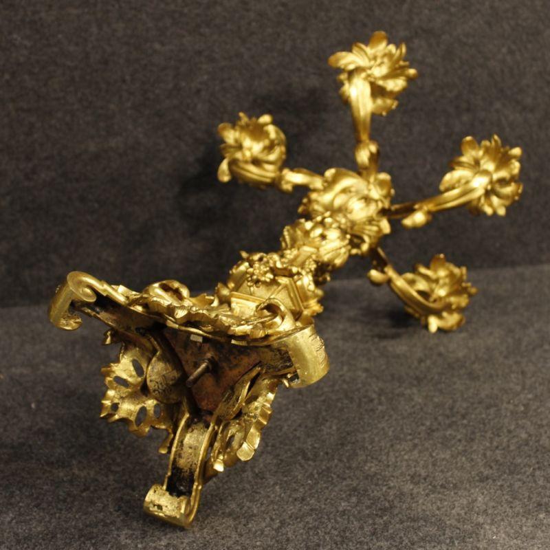 Candelabri antichi dorati 6