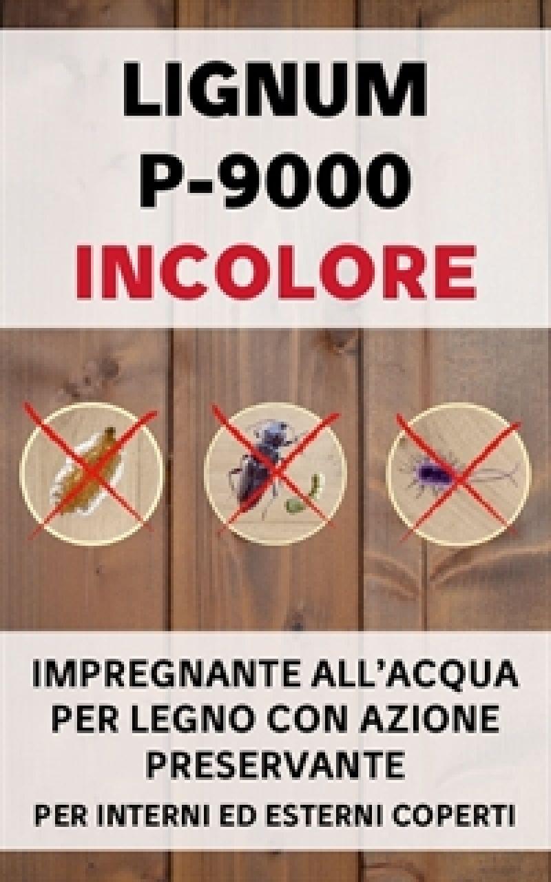 Impregnante per legno LIGNUM P-9000 1