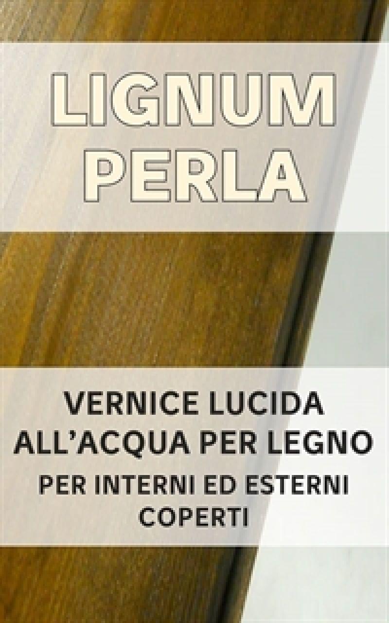 Vernice lucida per legno LIGNUM PERLA 1