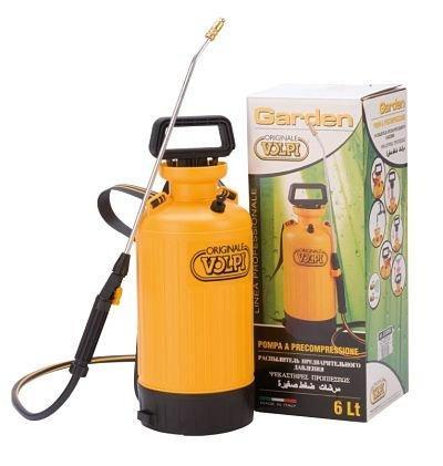 Pompa a precompressione volpi garden 6 lt 1
