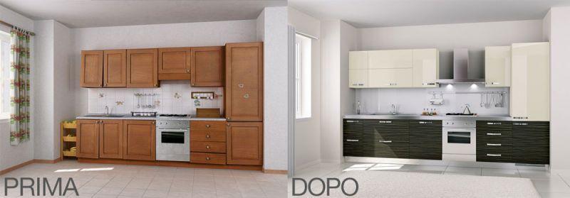 Ristrutturazione cucina Bologna 1