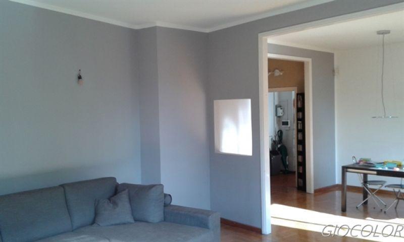 Pittura effetto velluto Milano 3