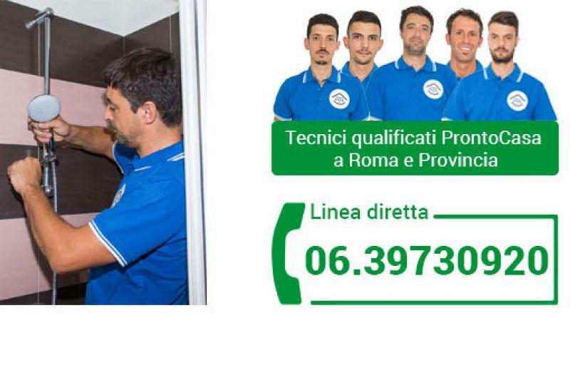 Pronto intervento idraulico a Roma 1
