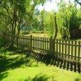 Steccato eco legno pino impregnato cm 180