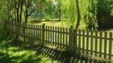 Thumbnail Steccato eco legno pino impregnato cm 180 1