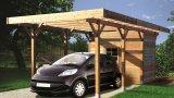 Thumbnail Carport + ripostiglio in legno impregnato 7 1