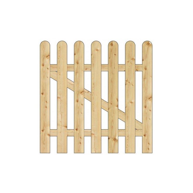 Cancelletto nice legno pino impregnato cm 100 1