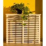 Copri condizionatore in legno naturale 970x425 mm