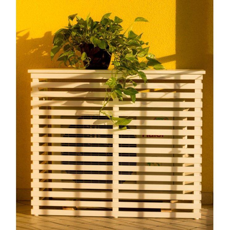Copri condizionatore in legno naturale 1050x505 mm 1