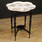 Tavolino inglese in legno di rovere e