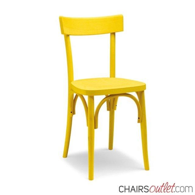 Leda: sedia in legno 1