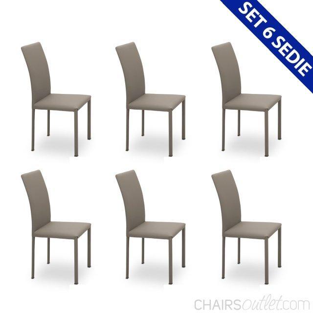 Set di 6 sedie 1
