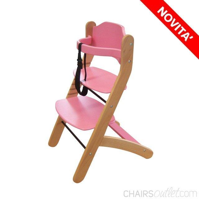 Vicky: seggiolone in legno 1