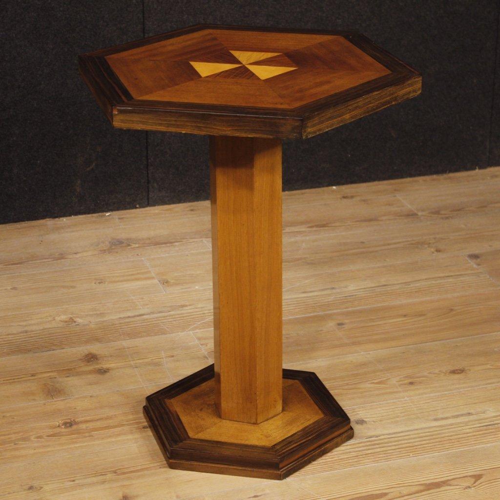 Tavolino francese in legno in stile art 1