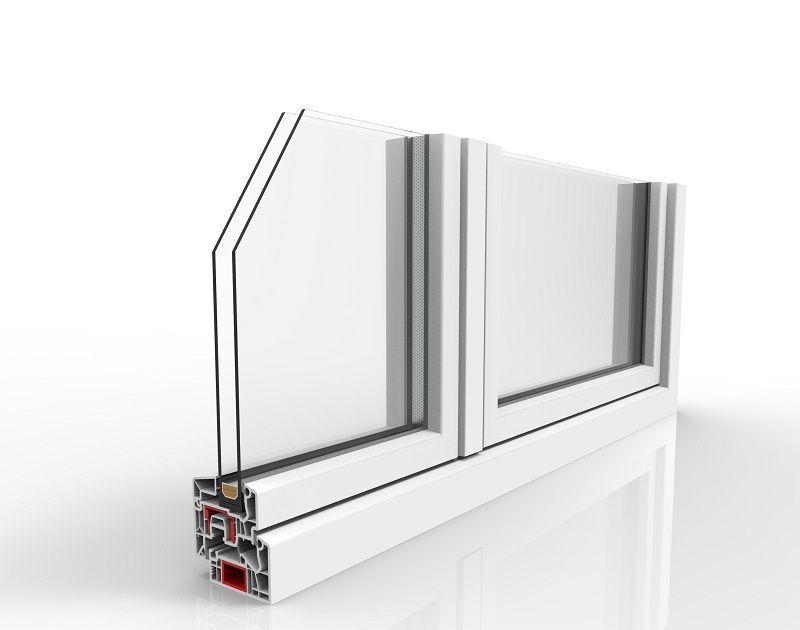 Finestra in PVC Regina Finesse comfort termico e acustico 1