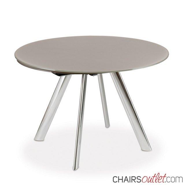 Myles/m tavolo rotondo allungabile 1