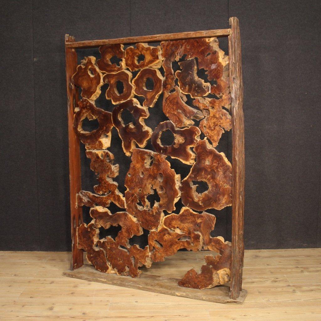Separé / scultura in legno 1