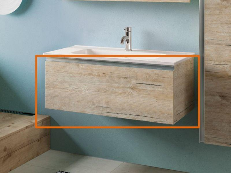Mobile bagno SMART 91 cm - NATURAL OAK 1