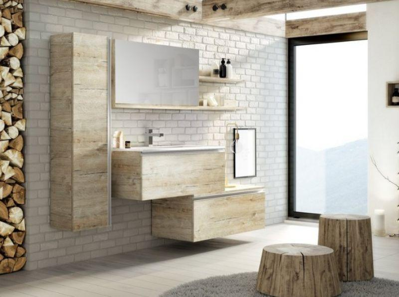 Mobile bagno SMART 91 cm - NATURAL OAK 3