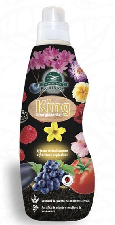 King energizzante concime organico azotato 1 lt 1