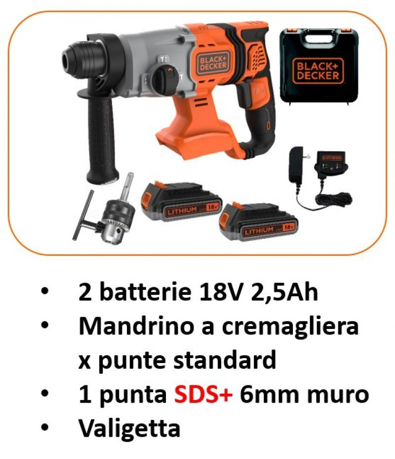 Tassellatori a batteria 18V SDS+ 3