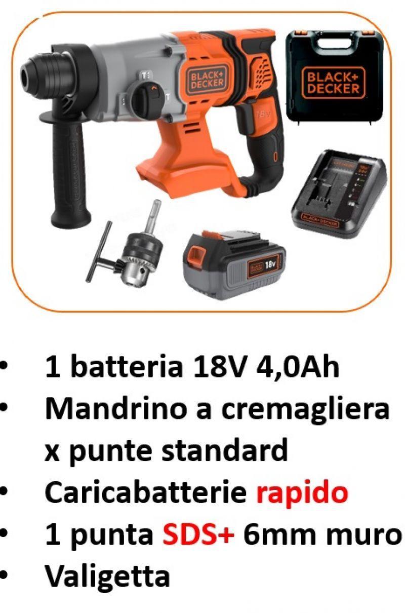 Tassellatori a batteria 18V SDS+ 4