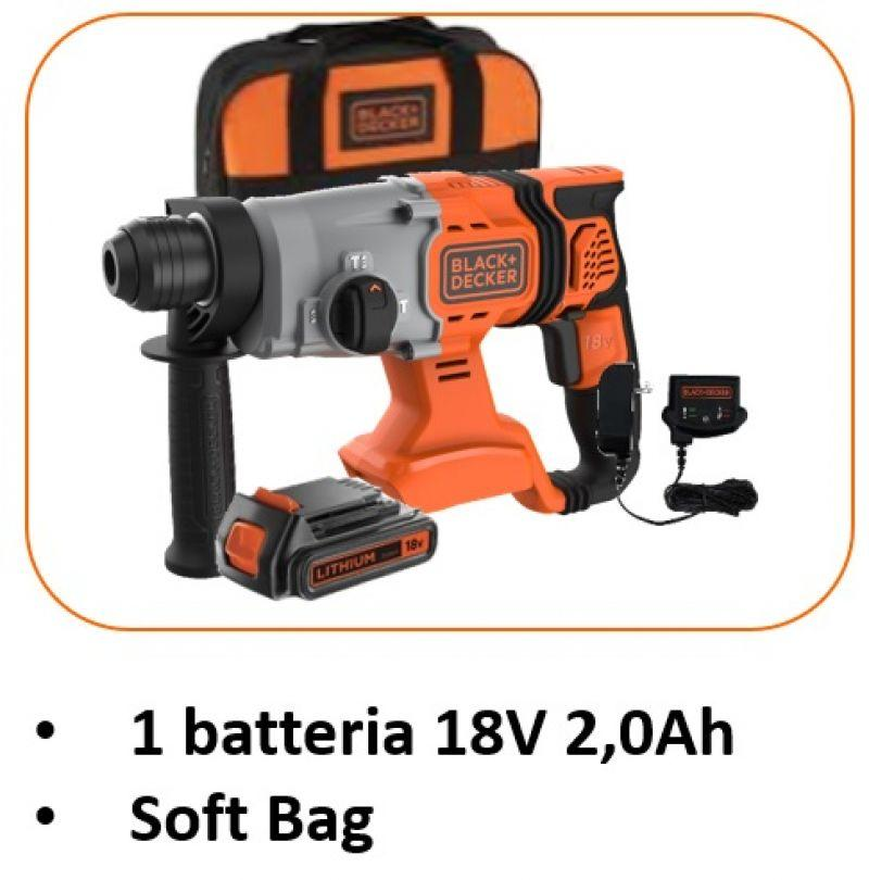 Tassellatori a batteria 18V SDS+ 5