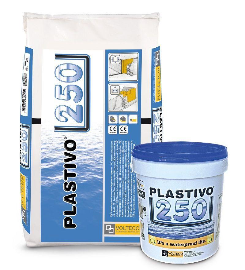 Impermeabilizzante elastico liquido - PLASTIVO 250 6