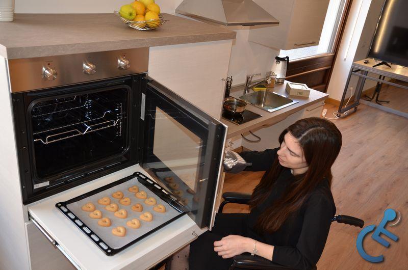 Cucina Accessibile per disabili MODULO3000 1