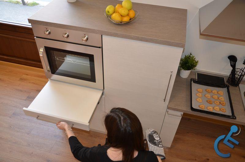 Cucina Accessibile per disabili MODULO3000 2