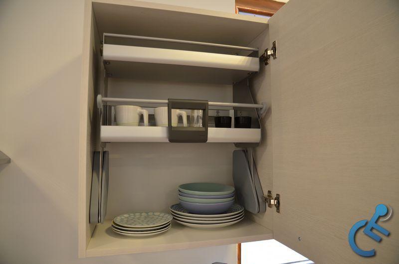 Cucina Accessibile per disabili MODULO3000 3