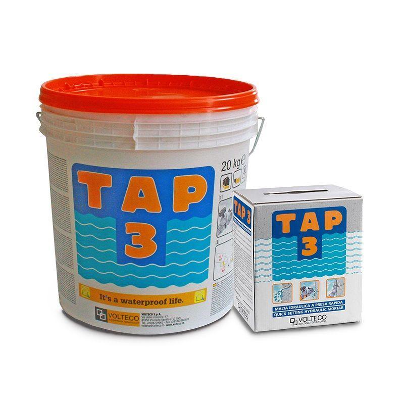 Malta idraulica a presa e indurimento rapido - TAP 3 3