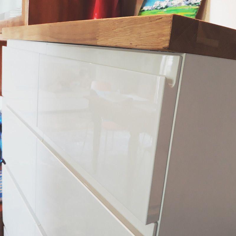 Ante e pannelli su misura per cucina laccati lucidi e opachi 1