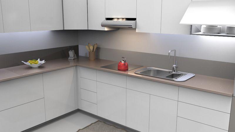 Ante e pannelli su misura per cucina in pvc 4