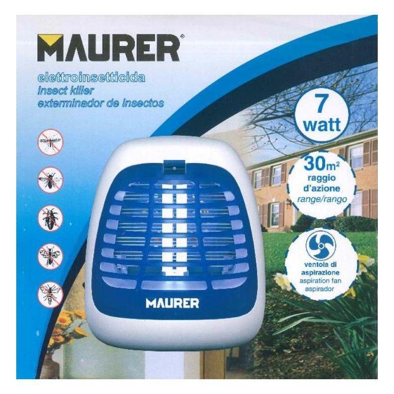 Zanzariera elettrica MAURER 7W 2