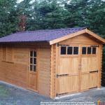 Garage in legno 3x5 (44mm)