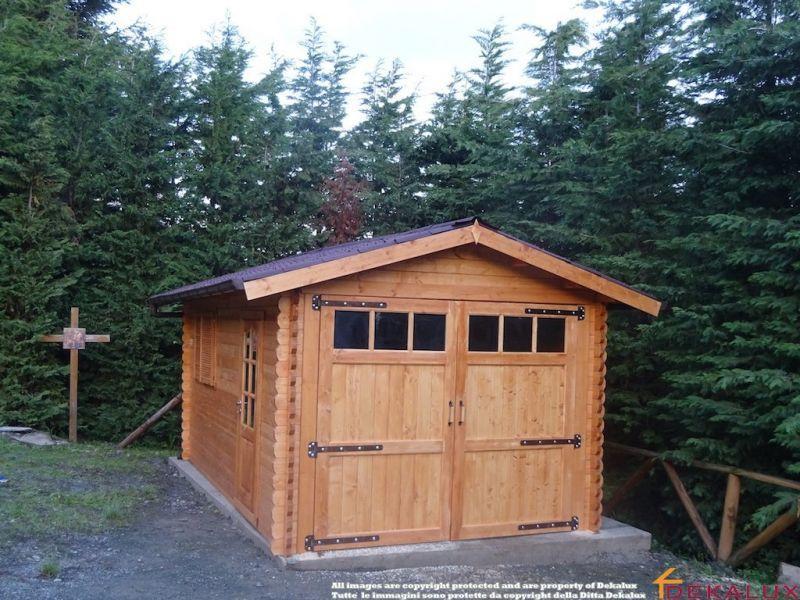 Garage in legno 3x5 (44mm) 1