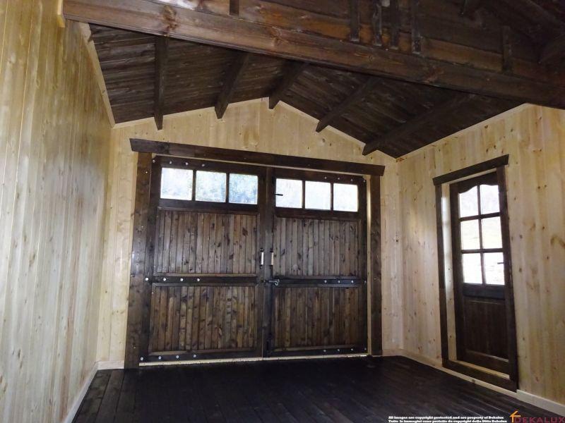 Garage in legno 3x5 (44mm) 4