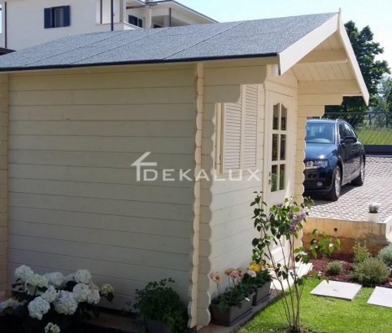 Casetta in legno 2.5x2 mt con porta singola 1