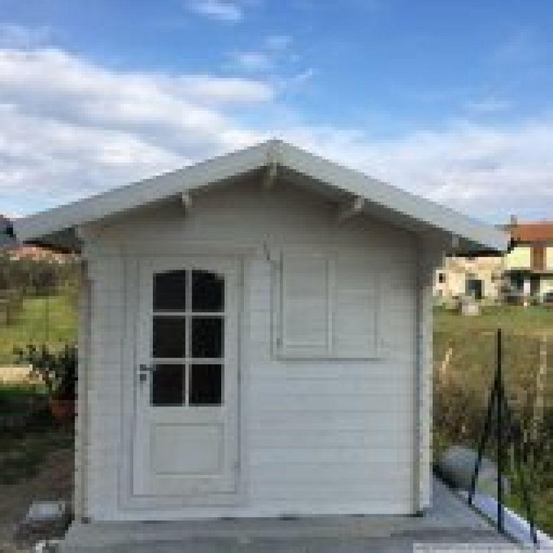 Casetta in legno 2.5x2 mt con porta singola 3