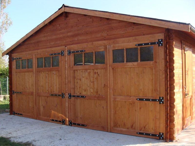 Garage in legno 6.00×6.00 mt 1