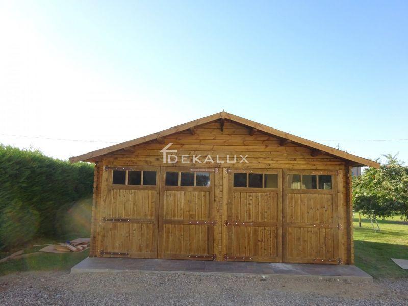 Garage in legno 6.00×6.00 mt 2