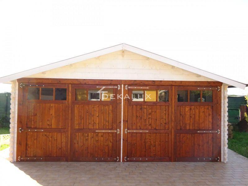 Garage in legno 6.00×6.00 mt 3