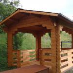 Gazebo in legno 3.00x3.00 (44 mm)