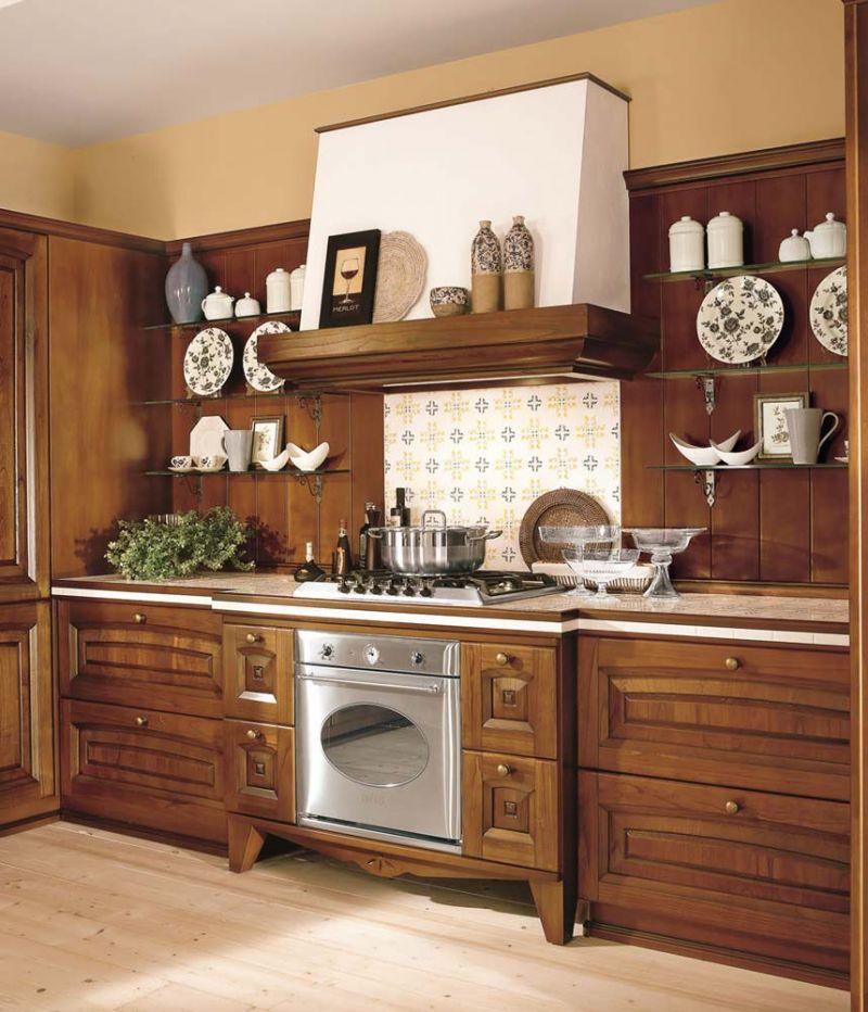 Anta in legno classica Maestrale con telaio misura standard 3