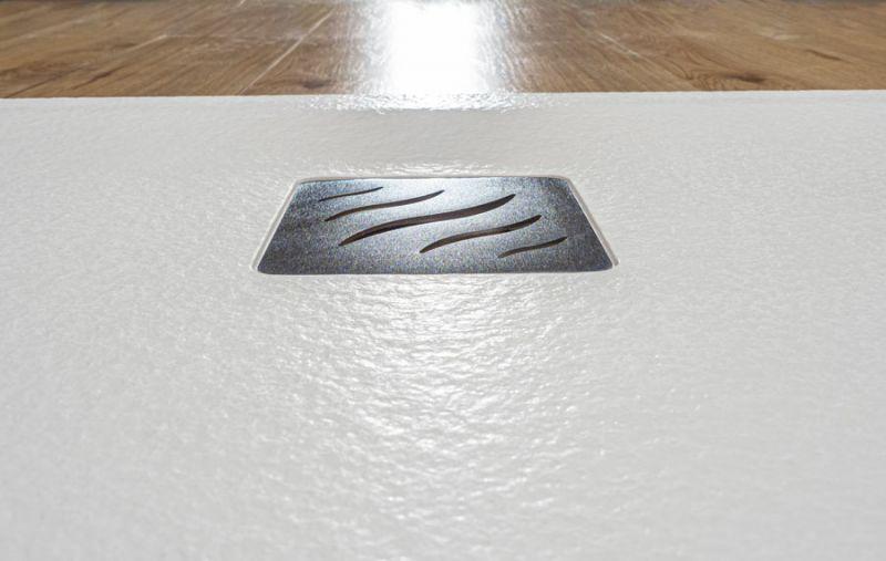 Piatto doccia rettangolare SIMI 120x80 finitura pietra colore bianco 1