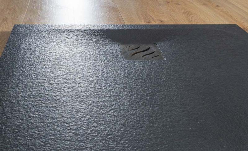 Piatto doccia rettangolare SIMI 120x80 finitura pietra colore bianco 7