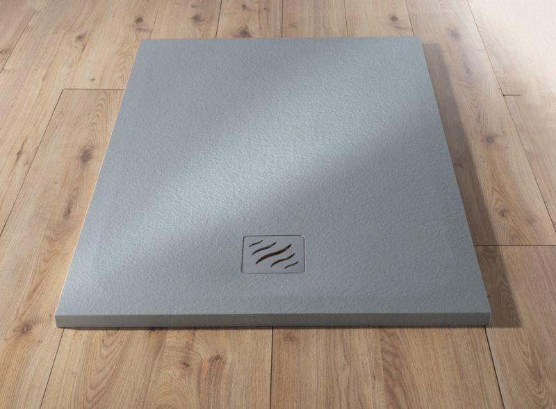 Piatto doccia rettangolare SIMI 120x80 finitura pietra colore bianco 9
